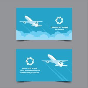 Publicdomainvectors Org Travel Agency Business Card Agency Business Cards Free Business Card Templates Free Business Cards