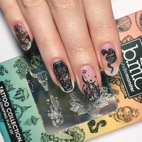 Tattoo Collaboration: Katja G. (BM-XL410) - Single Plate – Maniology