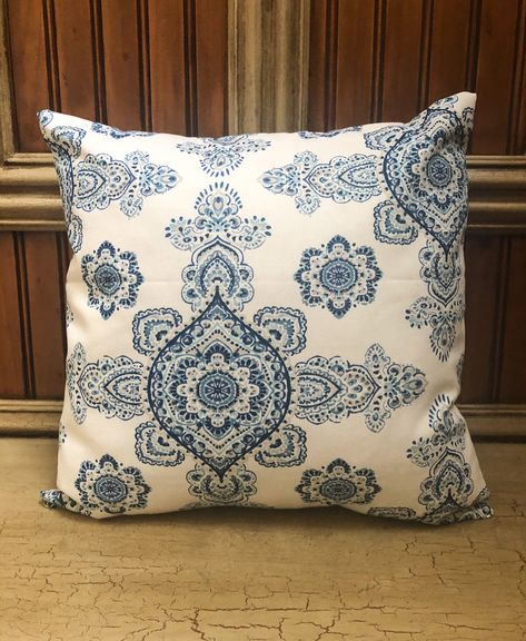 Navy Pillow Cover, Blue Throw Pillows