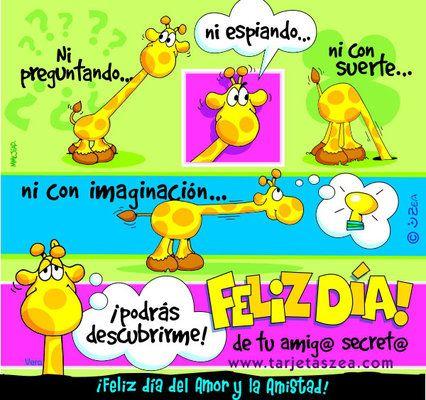 Tarjeta Para Mi Amiga Secreta Colombia Mamás Y