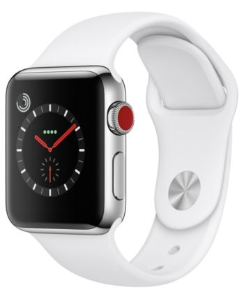 Apple Watch Series 3 Gps Cellular 38mm Silver Aluminum Case