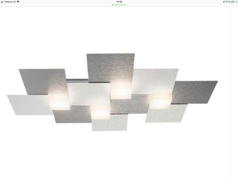 GROSSMANN Creo LED-Deckenleuchte, 7fl alu Deckenleuchten Pinterest - deckenleuchten für badezimmer
