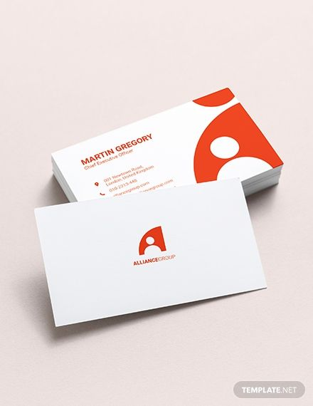 Modern Ceo Business Card Vizitki