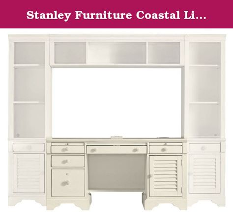 Stanley Furniture Coastal Living Cottage Computer File Desk