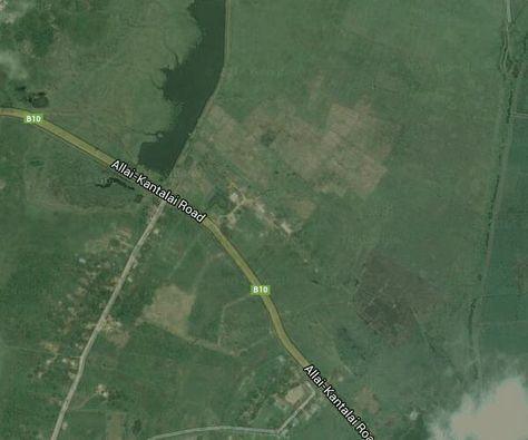 Sri Lanka on Google Map, Sri Lanka Satellite Map | Satellite ...