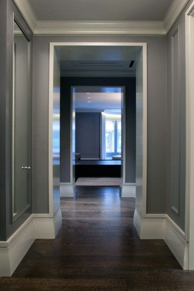 Baseboard Moulding Styles Modern Baseboard Styles Hardwood Floors Dark House Design