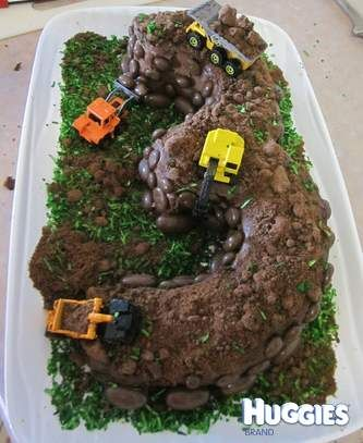 My 3 year old son is MAD about diggers and construction type