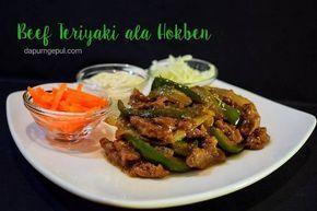 Resep Beef Teriyaki Ala Hokben Oleh Amalia Dapurngepul Com Resep Memasak Makanan Resep