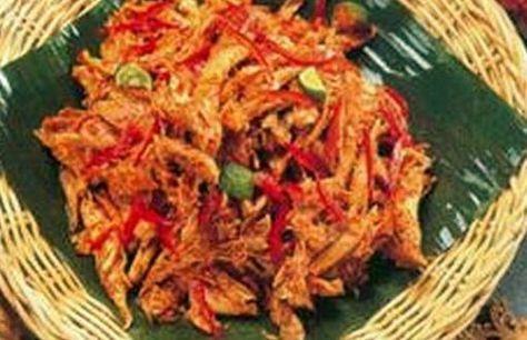 Resep Ayam Suwir Pedas Bali Bumbu Rica Rica Resep Masakan Resep Ayam Resep