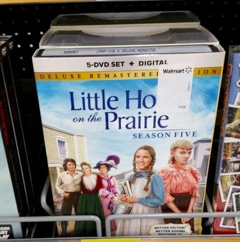 I can finally marathon Little Ho On The Prairie! | 19 Times Walmart Needed To…