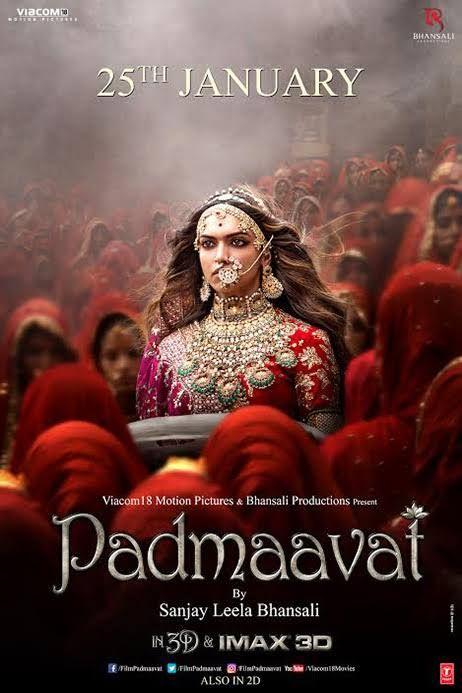 Padmaavat Padmavati Sanjay Leela Bhansali 2018 This Film Is A