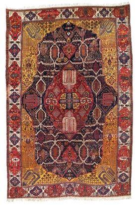 Large Bakhtiari Carpet West Persia Circa 1890 23ft 2in X 15ft 3in 705cm X 465cm Carpet Fabric Rugs Carpet Sale