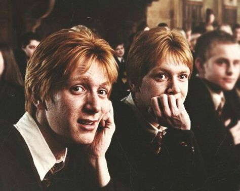 Fred and George Weasley Harry Potter Icons, Harry Potter Pictures, Harry Potter Cast, Harry Potter Characters, Harry Potter Universal, Harry Potter Fandom, Harry Potter Netflix, Weasley Twins, Ron Weasley