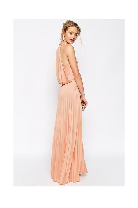 0e7aca2432 ALICE OLIVIA Triss Sleeveless Maxi Dress with Leather Trim in Almond Cream  - Has use of silk and use of leather by Th