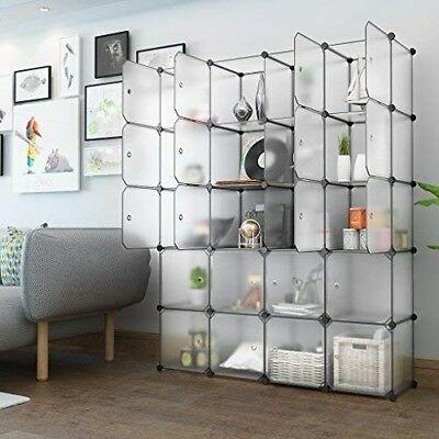 Details About Plastic Storage Wardrobe Cabinet Cubes Organiser Hanging Rail Shoe Shelves Racks In 2020 Cube Storage Shelves Cube Storage Plastic Storage Cubes