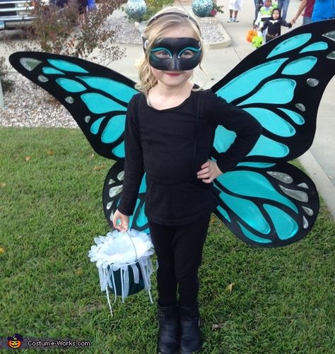 Big Winged Butterfly - Homemade Halloween Costume