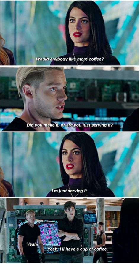 Just serving ... (shots taken from the tv serie Shadowhunters) ... the mortal instruments isabelle lightwood jace herondale alexander 'alec' lightwood emeraude toubia matthew daddario shadowhunters dominic sherwood #tvseries #tv #series #friends