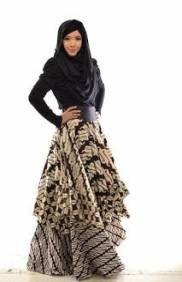 Fashion Hijab Muslim Batik 40 Ideas For 2019 Wedding Idea