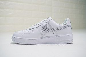 Femme Nike Air Force 1 Low Violet Blanche Violet 842929 100