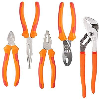 B.Tech 11 adjustable locking long nose pliers.