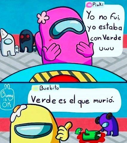 Pin En Memes De Among Us En Espanol