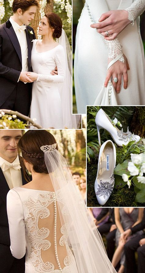 Twilight Saga Wedding. I haven't seen the movie, but I might have to just so I can see this dress in action!