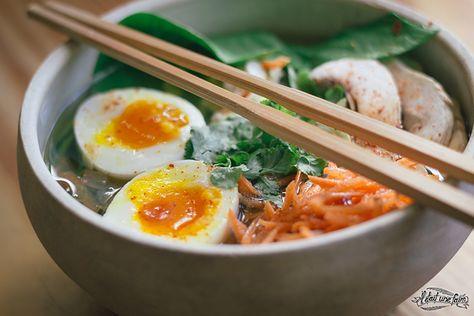 Recette rapide de Ramens aux légumes : nouilles japonaises | Blog Voyage Il Était une Faim : photos, récits et DIY
