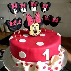 Minnie Mouse Torte Rezept Geburtstag Kuchen Madchen Kinder Geburtstag Torte Minnie Mouse Torten
