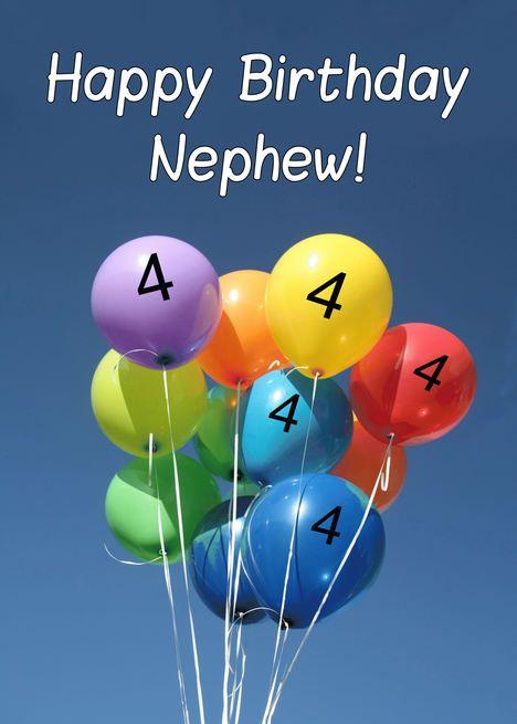Happy 4th Birthday Nephew : happy, birthday, nephew, Birthday, Nephew,, Colored, Balloons, #Paid,, #Colored,, #Nephew,, Happy, Cousin,, Niece,, Wishes
