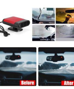 200w 12v 2 In 1 Car Electric Heating Cooling Heater Fa Hot Warm