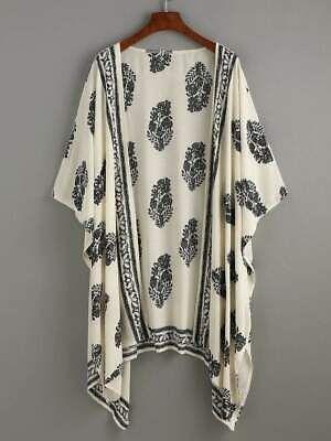 URBAN MIST Womens Vintage Long Sleeve Floral Crochet Lace Summer Boho Hippie Top