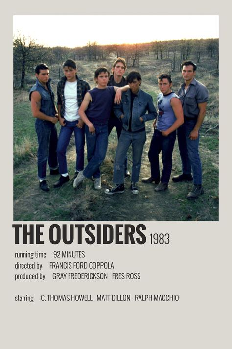The Outsiders by Maja