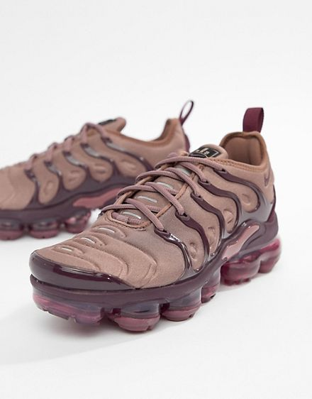 purchase cheap 88830 bf5ab 1808Kr Asos Nike Mauve Air Vapormax Plus Trainers | Shoes in ...