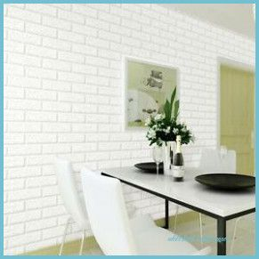 Soft White Contact Paper Is Also Referred To As White Acrylic And Is A Versatile Product That Can Be Use White Brick Faux Brick Wallpaper White Brick Wallpaper