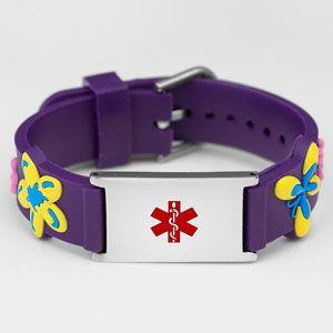 S Purple Flower Medical Id