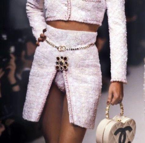 Sugar baby, Chanel 1993 - Make Models Great Again