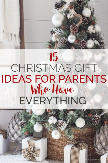 15 Christmas Gift Ideas For Parents Who Have Everything Society19 Parents Christmas Creative Christmas Gifts Christmas Gifts For Parents