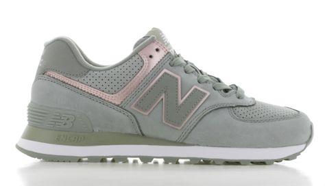 New Balance WL574 Groen Dames (con imágenes)   Zapatos