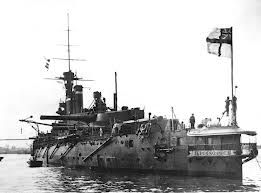 13.5 in super-dreadnought HMS King George V, 1917 - not to be confused with the WW2 battleship of the same name.
