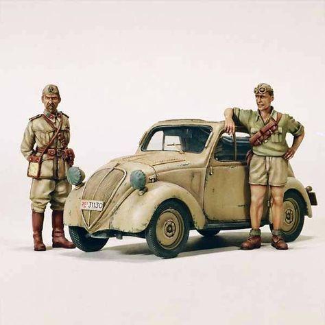 Modellismo - Md Model - Statico - carri armati - kit scala 1/35