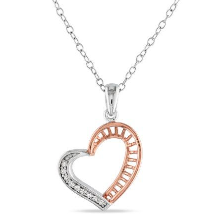 18 in Length Sterling Silver Amazing Love 18in Heart Necklace Sterling Silver