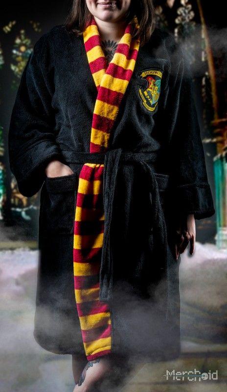 Harry Potter Hogwarts Velvet Robe with a Hoodie Medium or Large