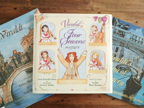 Composer Study with Living Books: Antonio Vivaldi - Intentional Homeschooling