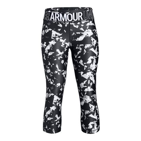 Under Armour Women's Favorite Floral Graphic Crop Tight