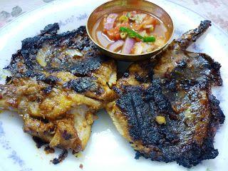 Ikan Pari Bakar Makanan Ikan Bakar Masakan