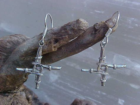Pretty St. Brigid earrings, would be a perfect Confirmation gift if only her ears were pierced.....