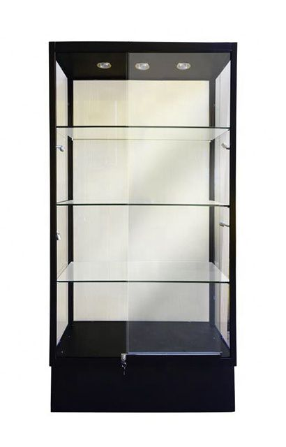 Tall Glass Cabinet Showcase With Sliding Glass Door Wholesale In 2020