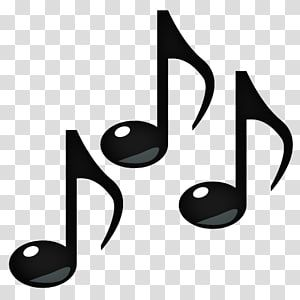 Three Black Musical Notes Art Emoji Musical Note Eighth Note Music Notes Transparent Background Png Clipart Musical Notes Art Clip Art Transparent Background