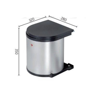 Cubo Basura Extraíble Cubo De Basura De Cocina Automático Cubo De Basura Contenedores De Basura Basura
