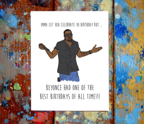 Kanye West Happy Birthday Card Taylor by ...